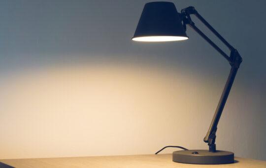 industriële lampen van Robuuste Tafels